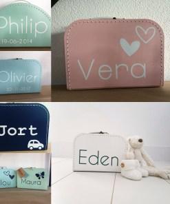 Kinderkoffertjes met naam -liefsvanlauren.nl