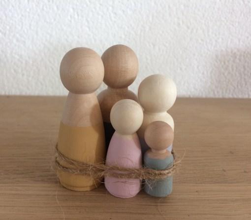 Houten poppetjes -liefsvanlauren.nl