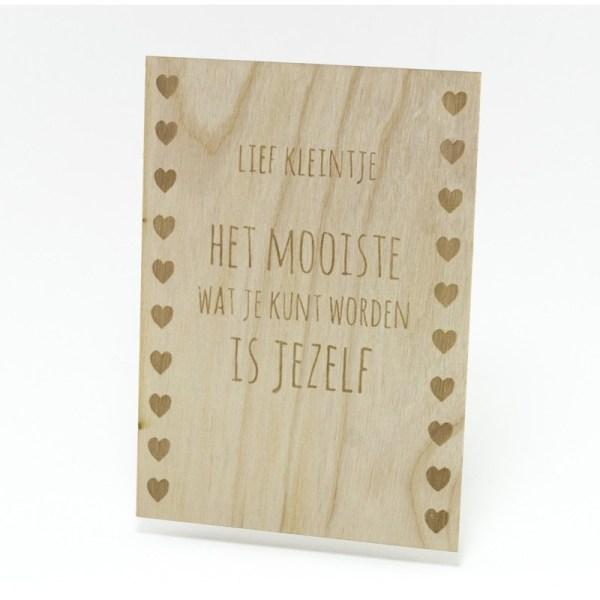 Lief kleintje, Marit de Wolff, Beavers Woodland, liefsvanlauren.nl