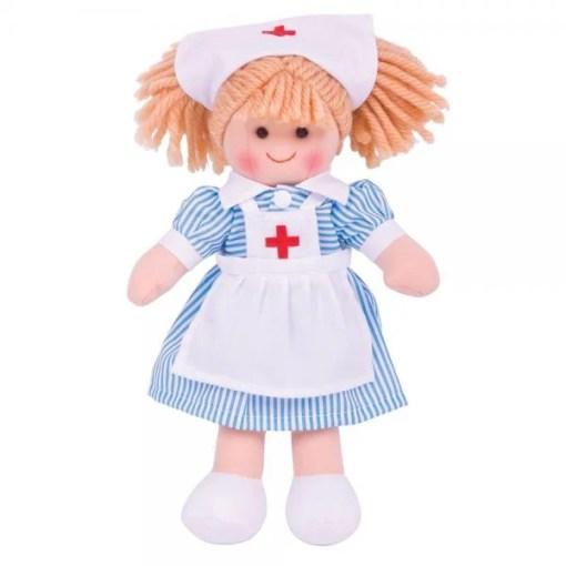 Zuster Nancy, pop, Nurse, verpleegkundige, bigjigs, liefsvanlauren.nl