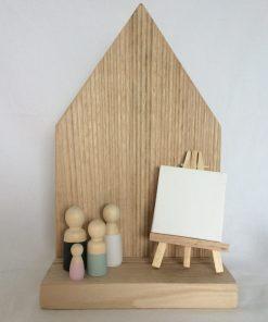 Mini schildersezel, Houten huisje, alternatief stolp, seizoenstafel, herinneringsplekje, liefsvanlauren.nl