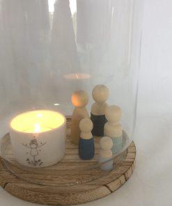 Open stolp, houten poppetjes, liefsvanlauren.nl
