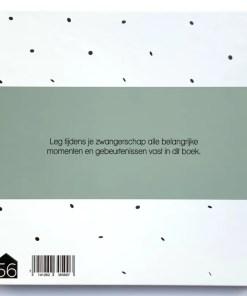 Zwangerschapsdagboek groen, huisje no56, zwangerschaps boek, liefsvanlauren.nl