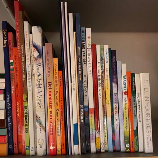 Boeken huren, rouw boeken, ziekte boeken, emotie boeken, thema boeken pakket, liefsvanlauren.nl