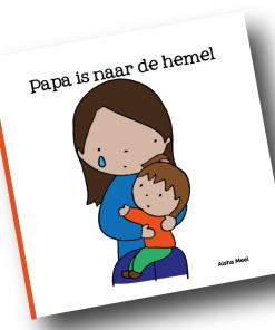 papa is naar de hemel, plotseling overlijden, Aisha meel, De Wonderwolk, liefsvanlauren.nl