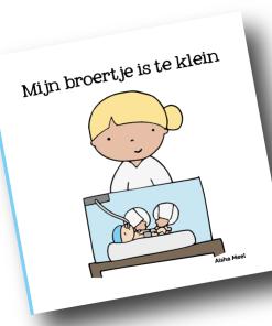mijn broertje is te klein, prematuur, vroeggeboorte, Aisha meel, De Wonderwolk, regenboogserie, liefsvanlauren.nl
