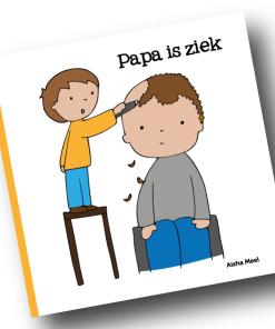 papa is ziek, Aisha Meel, De Wonderwolk, regenboogserie, liefsvanlauren.nl