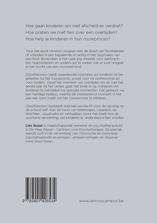 DoodGewoon, kinderen begeleiden in rouw, Lies Scaut, liefsvanlauren.nl