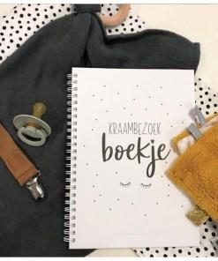 kraambezoek boek miekinvorm, invulboek kraambezoek, baby boek, herinneringen, kraamtijd, liefsvanlauren.nl