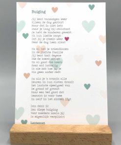 gedicht buiging, alleenstaande moeder, gedicht lentezoet, liefsvanlauren.nl
