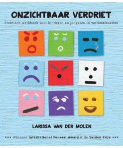 onzichtbaar verdriet, levend verlies, creatief, praktisch werkboek, Larissa van der Molen, liefsvanlauren.nl