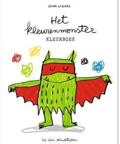 Het kleurenmonster kleurboek, emoties, kleurboek, knutselen, liefsvanlauren.nl