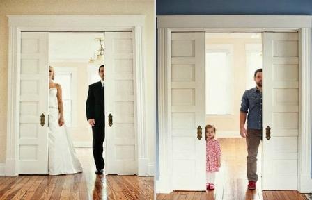 890543548-na-foto-da-esquerda-ben-e-esposa-na-da-direita-pai-e-filha-recriam-o-momento