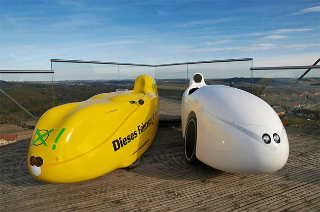 velomobile by Gerd Pachauer
