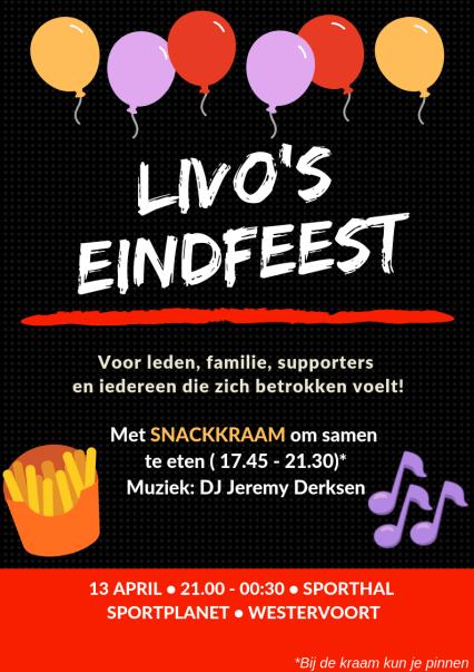 livo's eindfeest_pinnen tekst