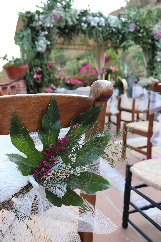 Decoración Y Arreglos Florales De Boda Civil Lienzo Blanco