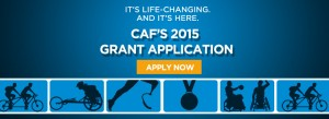 CAF's 2015 Grant Application