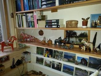 vitrine,Zweedse paardjes,Burmezen