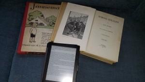 Janneman 1912,Schoolidyllen 1907,Kobo e-reader 2014