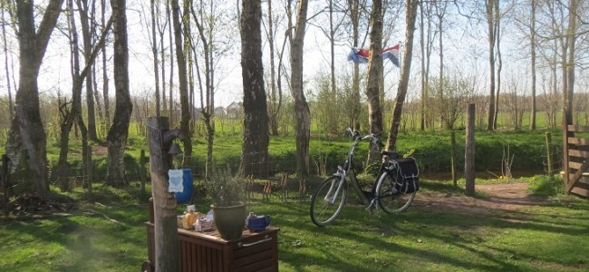 theetuin Tijnje,ontdekking,fietsen,Friesland