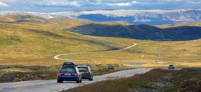 Hardangervidda,Noorwegen,2015