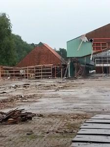 Timmerfabriek De Vries,sloop,Gorredijk,2015