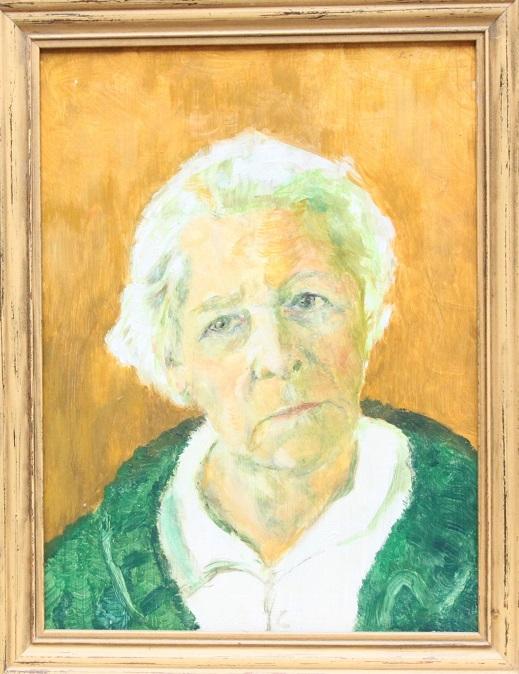 schilderij,An van Berkel-Zorn,An Zorn,zelfportret,olieverf,Den Haag