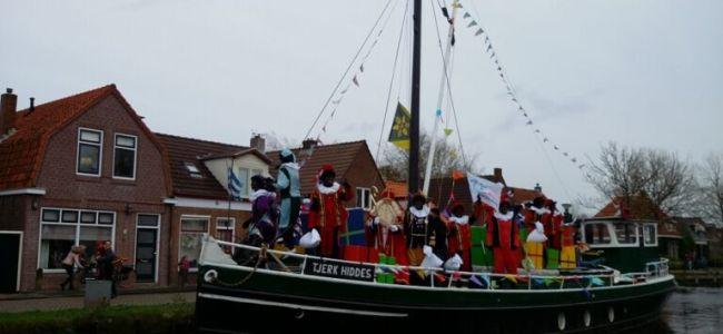 Sinterklaas,intocht,Gorredijk,Opsterlandse Compagnonsvaart,2015