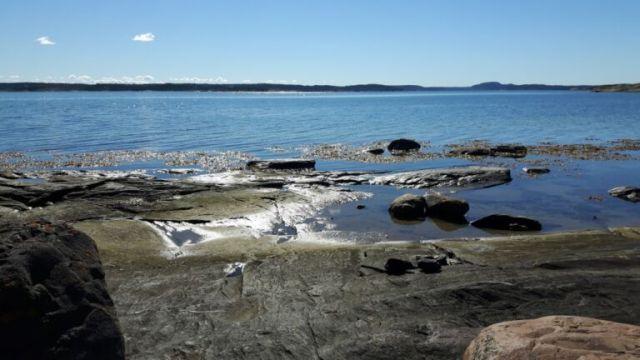 Zweden,zee.strandjes,september,2016