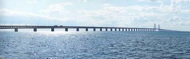 Denemarken-Zweden,Öresundbro,
