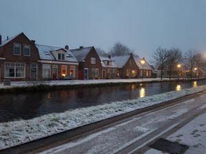 Friesland in de sneeuw
