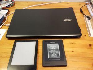 2 Kobo's en een nieuwe laptop