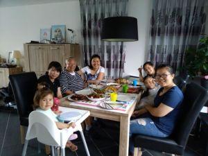 Mijn Chinese vriendinnen en wát een lunch!
