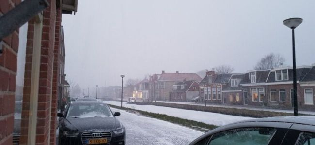 horror winter, Gorredijk, Friesland, 2018
