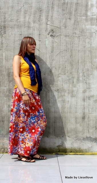 DIY: Maxi Skirt in less than an hour!