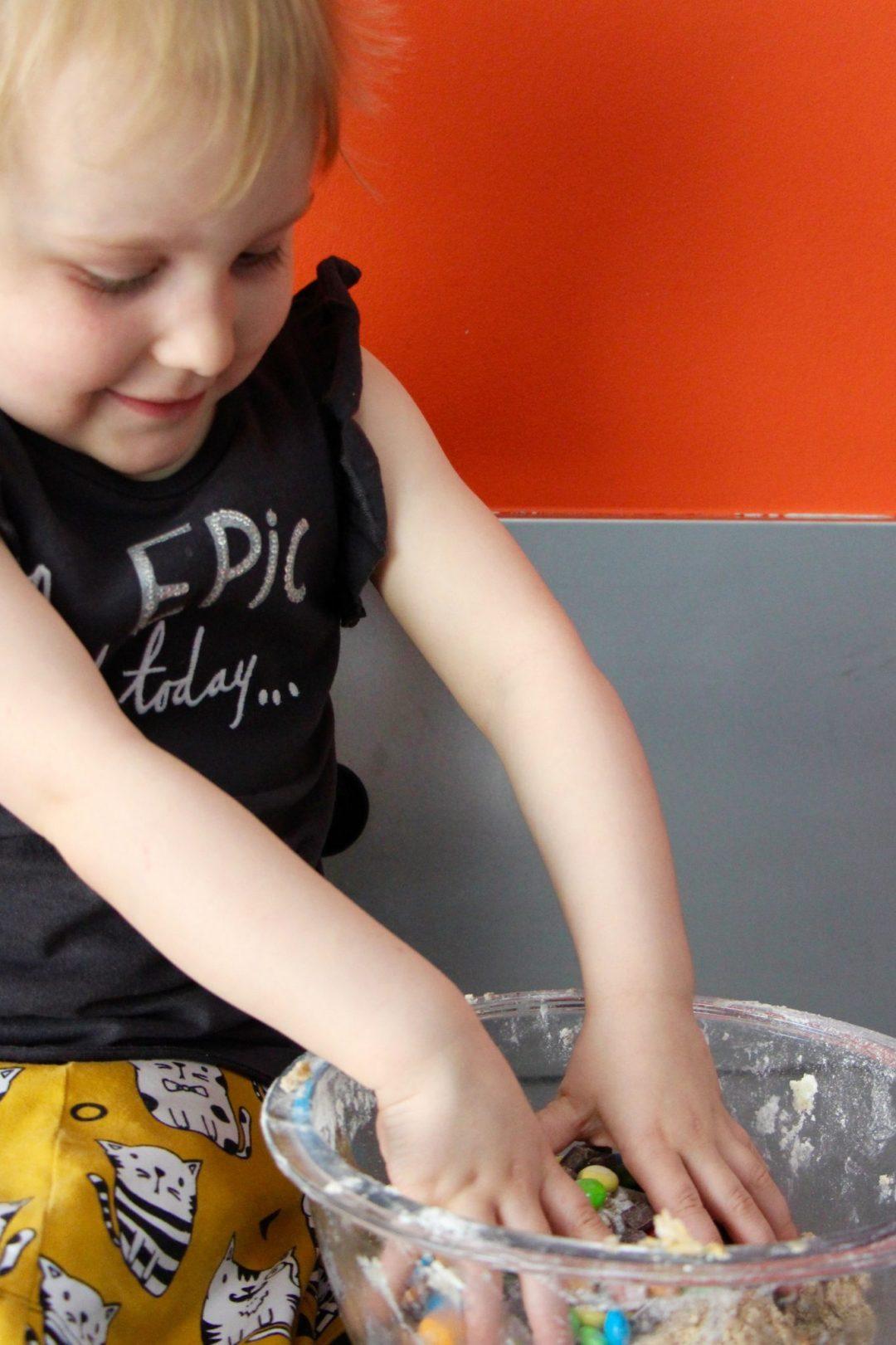 Koekjes maken met kinderen