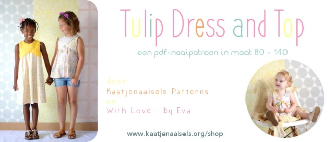 Tulip Dress Top With Love By Eva Kaatjenaaisels