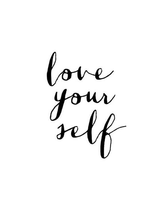 love your self quote