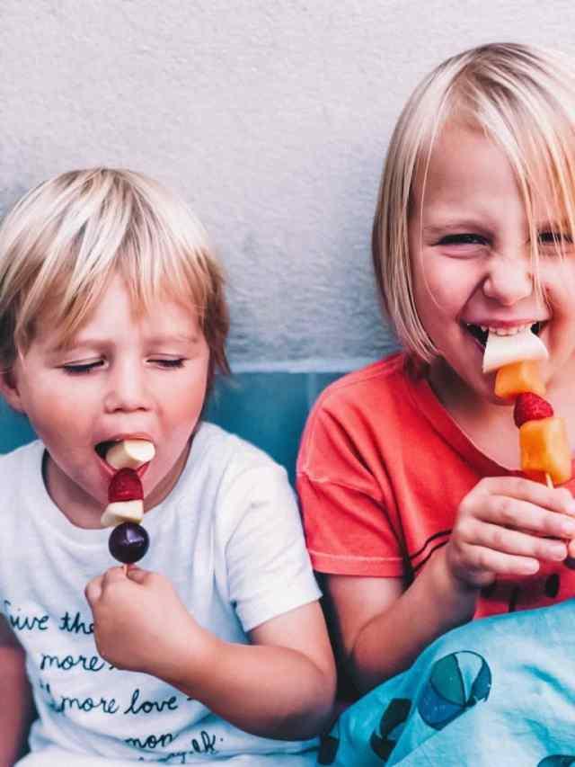 Njam tips kinderfeestje gezonde tanden