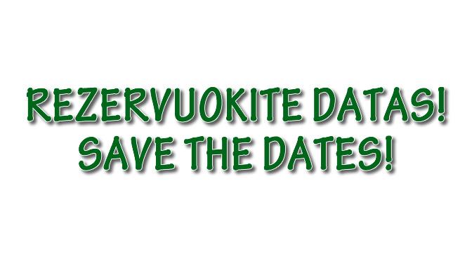 Artėjantys renginiai mūsų bendruomenėje / Upcoming Events
