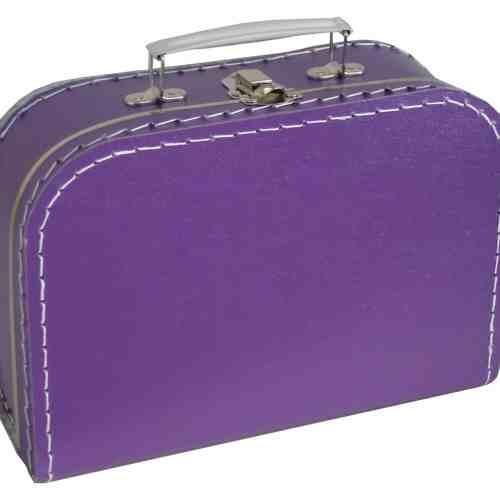 koffertje paars