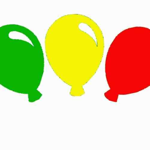 Raamsticker - Ballonnen