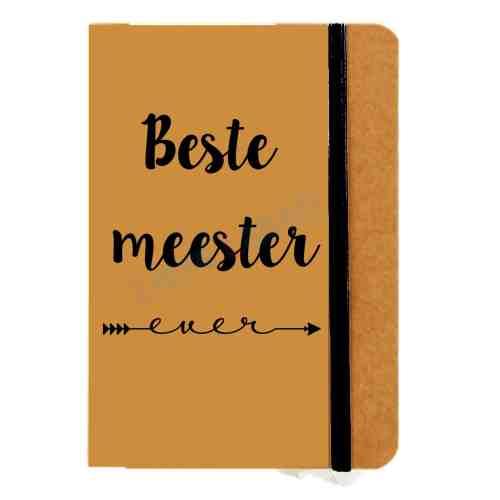 notitieboekje voor meester