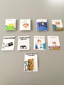 Dagritme kaarten DIY - LIEVELYNE