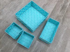 Sorteer manden blauw set van 4 - Action shoplog Lievelyne