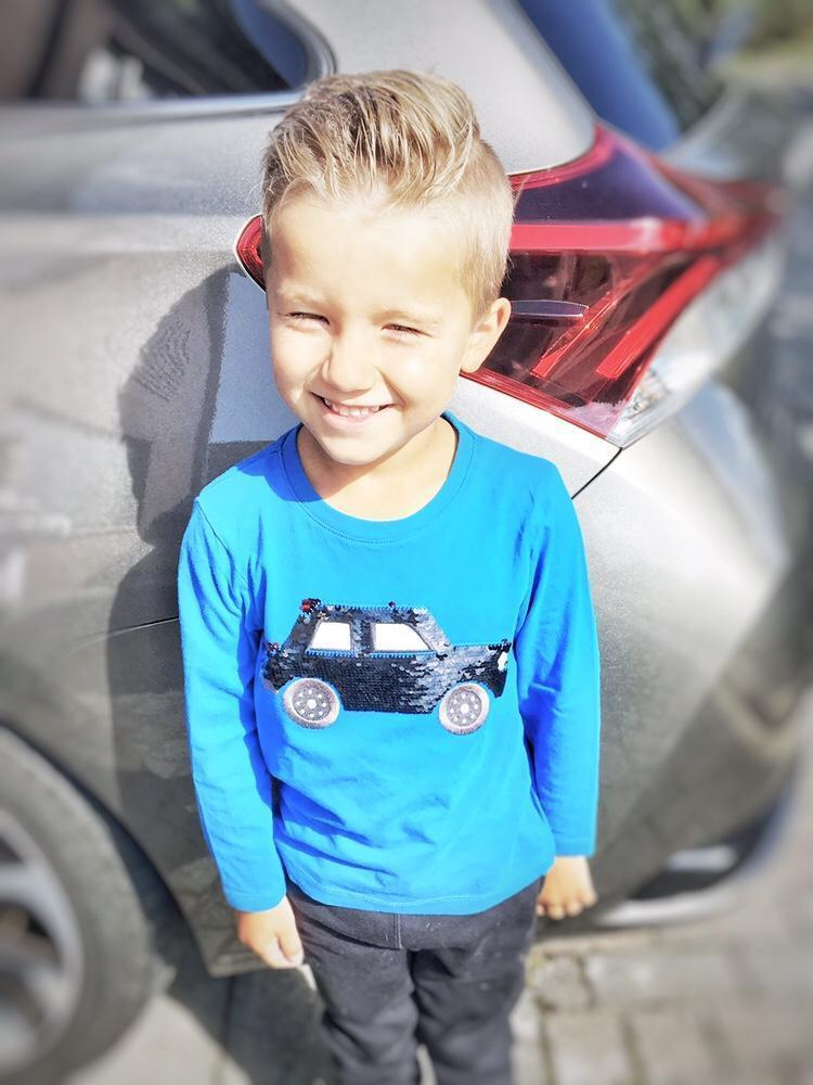 Wrijf shirt auto C&A kindercollectie