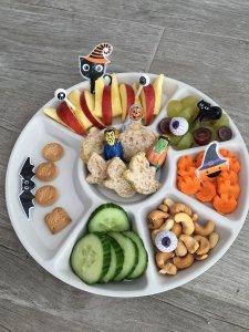 monkey platter halloween - Lievelyne