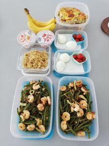 mealprep gezond afvallen - Lievelyne