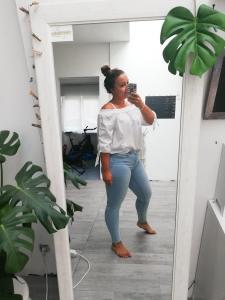 Shoplog Sicilië Lichte jeans - Lipoedeem - LIEVELYNE