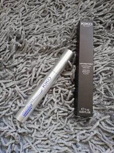 Kiko Milana waterproof mascara Black